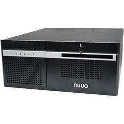 NUUO NH-4500-ENT 64-Channel 6-Bay 4U Hybrid NVR with Redundant Power Supply (6TB)