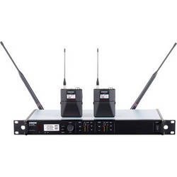 Shure ULXD Dual-Channel UHF Bodypack Instrument Kit (L50: 632 to 696 MHz)