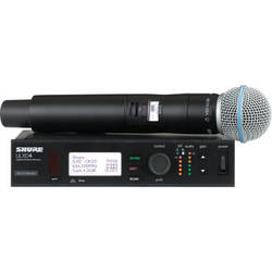 Shure ULX-D Digital Wireless Handheld Microphone Kit with Beta 58A Capsule (G50: 470 to 534 MHz)