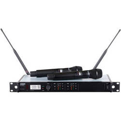 Shure ULX-D Dual-Channel UHF Handheld Wireless Kit (SM 87A, L50: 632 to 696 MHz)