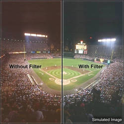 """LEE Filters 3x3"""" High Pressure Sodium Tungsten Polyester Filter"""