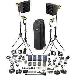 Dedolight DLED4-D Daylight LED 4-Light Master Kit (Mains & Battery Operation)