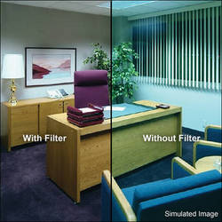 "Tiffen 3 x 4"" Decamired Red 3 Warming  Glass Filter"