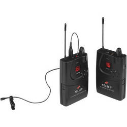 Polsen ULW-16 - 16-Channel Camera-Mountable UHF Wireless System with PL-4 Lavalier Microphone - (584.400 to 602.450 MHz)