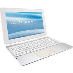 """ASUS 16GB TF103C-A1 Transformer Pad 10.1"""" Wi-Fi Tablet with Keyboard (White)"""