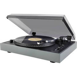 Crosley Radio Advance Turntable with Pitch Control, USB, and Recording Software (Grey)