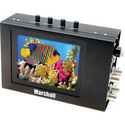"Marshall Electronics V-LCD4PROL 4"" Camera Mountable LCD Monitor with Metal Housing"