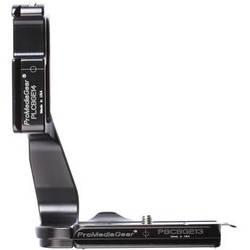ProMediaGear L-Bracket for Canon EOS 70D DSLR with BG-E14 Battery Grip