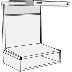 GTI EVS-2540/TS Executive Viewing Station with Table Stand