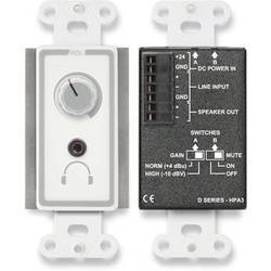 RDL 3.5W Audio Power and Headphone Amplifier (White)