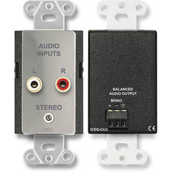 RDL DS-CIJ3 Consumer Input Mono Jack (Stainless Steel)