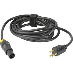 Lowel Powercon Unswitched AC Cable for Prime Location LED Light (North American, 12')