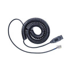VXi 1029V Quick Disconnect Coiled Headset Lower Cord (6')