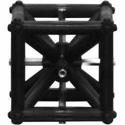 "Odyssey Innovative Designs Nexus DJ Truss Cube (Black, 6 x 6 x 6"")"