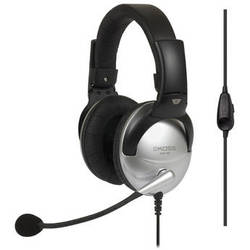 Koss SB49 Full Size Communication Headset with Noise-Canceling Microphone