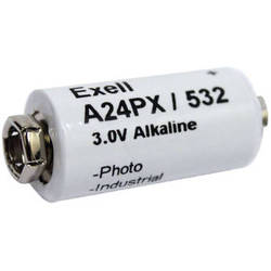 Exell Battery A24PX 3V Alkaline Battery