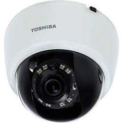 Toshiba 1080p HD PoE IP Mini-Dome Indoor Camera with 2.8mm Lens