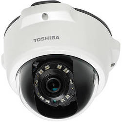 Toshiba Outdoor Day/Night 1080p HD IP Mini-Dome Camera with 2.8mm Lens