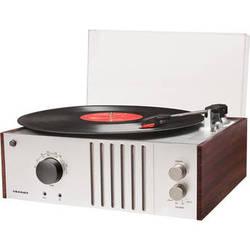 Crosley Radio Player Turntable with AM/FM Radio and Portable Audio Input