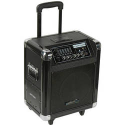 """Technical Pro WASP800UIBT 8"""" Portable PA System"""