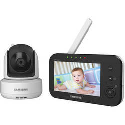 Samsung SEW-3041W BrilliantVIEW Pan/Tilt Camera Video Baby Monitoring System