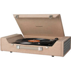 Crosley Radio Nomad Portable Turntable with USB and Recording Software (Brown)