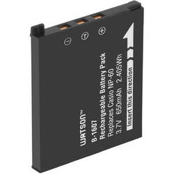 Watson NP-60 Lithium-Ion Battery Pack (3.7V, 650mAh)