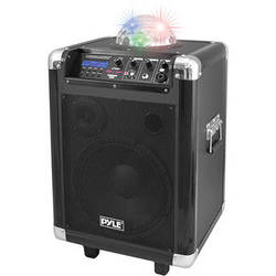 "Pyle Pro PCMX280B 10"" 400 Watt Disco Jam Portable PA Speaker"