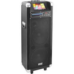 """Pyle Pro PKRK210 10"""" 1000 Watt Karaoke Vibe Portable PA Speaker"""