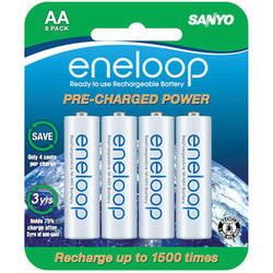 Sanyo XX Powered by Eneloop NiMH AA Batteries (2400mAh, 8-Pack)