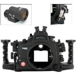 Aquatica AD800 Underwater Housing for Nikon D800 or D800E with Aqua VF and Vacuum Check System (Dual Nikonos Strobe Connectors)