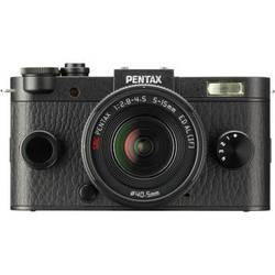 Pentax Q-S1 Mirrorless Digital Camera with 5-15mm Lens (Black)