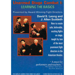 First Light Video DVD: Unarmed Stage Combat 1: Learning the Basics