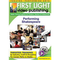 First Light Video DVD: Performing Shakespeare by Kathleen Conlin
