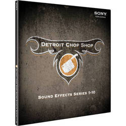 Sony The Detroit Chop Shop Sound Effect Library (Volumes 1-10)