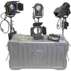 Mole-Richardson TweenieLED 100W Daylite 3-Light Case Kit