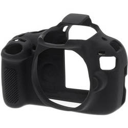 easyCover Silicone Protection Cover for Canon EOS Rebel T5 (Black)
