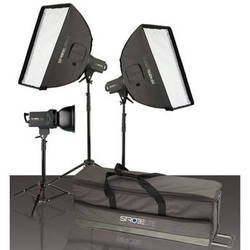 Westcott Strobelite Plus Three Monolight Kit (120VAC)