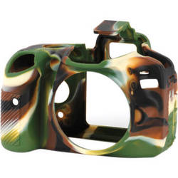 easyCover Silicone Protection Cover for Nikon D3200 (Camouflage)