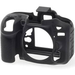 easyCover Silicone Protection Cover for Nikon D7100, D7200 (Black)