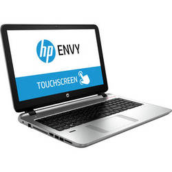"HP ENVY 15-k020us TouchSmart 15.6"" Multi-Touch Notebook Computer (Silver)"
