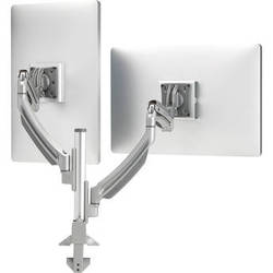 Chief Kontour K1C Dynamic Height-Adjustable Column Dual Monitor Mount (Silver)