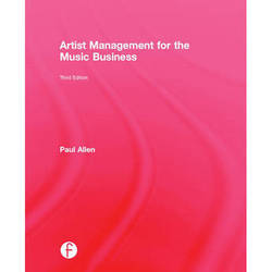 Focal Press Book: Artist Management for the Music Business (3rd Edition, Hardback)