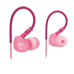 MEElectronics Sport-Fi M6 Memory Wire In-Ear Headphones (Pink)