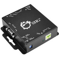 SIIG HDMI Extender over Single CAT5e with RS-232 and IR (Black)