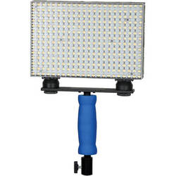 Ledgo 308 Bi-Color On-Camera LED Light with Handle