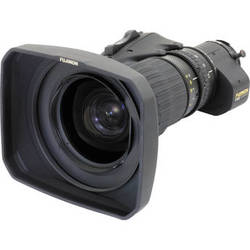 Fujinon HA18X5.5BEZD-T5D Premier Series ENG/EFP Lens with Digital Servo & 16-Bit Encoders with Quick Frame