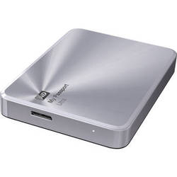 WD 2TB My Passport Ultra Metal Edition (Silver)