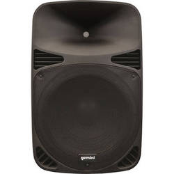 Gemini HPS Series HPS-12BLU Professional Loudspeaker with SD Card Slot, USB 2.0 Drive, and Bluetooth