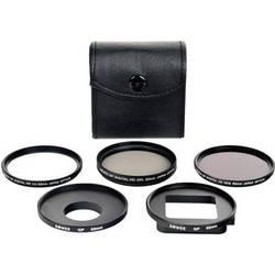 Bower 6 Piece Filter Kit for GoPro HERO3+/4